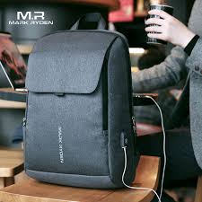 Online Shop Mark Ryden <b>Man Backpack</b> USB Recharging 15.6 inch ...