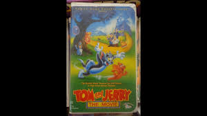 Opening To Tom and Jerry: The Movie (1993) VHS - Reversed! - YouTube