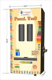Pencil Vending Machines Extraordinary Black Manual Pencil Vending Machine Rs 48 Piece S S