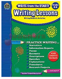writing write from the start writing lessons gr  writing write from the start writing lessons gr 6 8