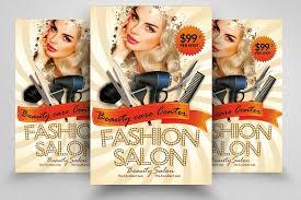 Spa Beauty Salon Flyer Template