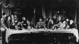 recreations of the last supper s distinctive tableau can also be found in the mel brooks comedy history of the world part 1 paul thomas anderson s