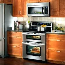 double wall oven with microwave above over the range microwaves home depot above stove in for double wall oven