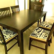 pretty design dining room chair pads with ties impressive table furniture indoor cushions and for