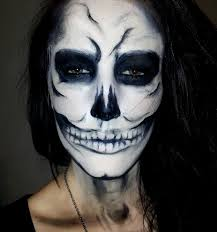 gallery of face paint ideas skeleton