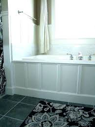 bathtub tile surround around installing bathroom tub ideas deck tiled bathtub surround