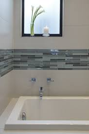 san francisco white porcelain tile bathroom contemporary with square sink air whirlpool combo bathtubs accent