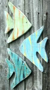 wooden fish wall decor colorful wooden beach fish source large wooden fish wall decor