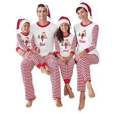 ZXZY Christmas Children Adult Family Matching Pajamas Sets Sleepwear Outfit - Walmart.com