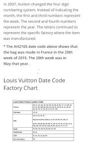 Louis Vuitton Date Code Chart Bc60e8202434 Arugvijyamedia Com