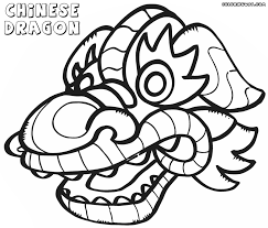 Chinese Dragon coloring pages | Coloring pages to download and print