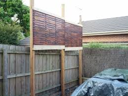 Image of: Fence Privacy Screen Ideas