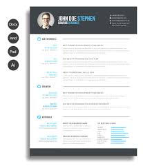 Resume Template Design Modern Ms Word Resume Template Design Free Ms Word Resume And CV 96