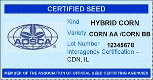 Grading Tagging Testing Blends Seed Labelling And Tolerance Canadian Advertising Varietal Food Of - Agency Management Pest pptm Inspection Corn Plant