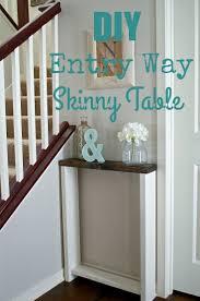 hallway table decor. Diy Entry Table Decor Skinny Tabl On Decorations Hallway