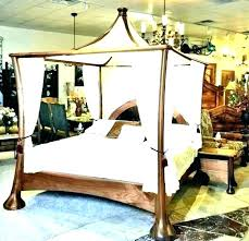 Bed Drapes Canopy Bed Drapes With Also Sheers For Poster Above ...