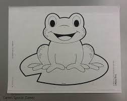 Free Printable Frog Templates Rome Fontanacountryinn Com