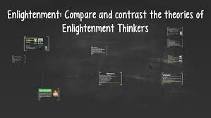 Enlightenment Thinkers Comparison Chart Enlightenment Compare And Contrast The Theories Of Enlighte