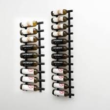 W Series 7' Wall Mounted Metal <b>Wine Rack</b> Kit (<b>21</b> to 63 bottles ...