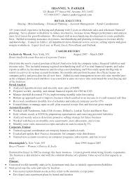 Retail Buyer Resume Examples Media Buyer Resumes Planner Job ...