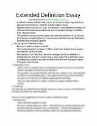 what is a definition essay examples essay love essay an essay on family extended definition essay example 1683847
