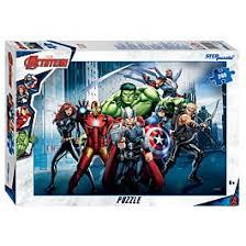 "<b>Step Puzzle</b>: Marvel. <b>Пазлы</b> ""<b>Мстители</b> - 3"" 260эл."