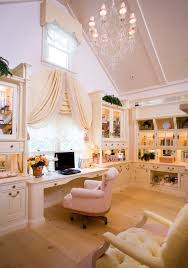 romantic decor home office. Elegant-chic-home-office-decor Romantic Decor Home Office F
