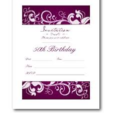 50th birthday invitation templates free 50th birthday invitation templates free printable vastuuonminun