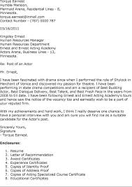acting cover letter examples 16 best actor images on pinterest sample resume cover letter