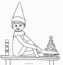 Click on the coloring page to open in a new window and print. Free Printable Elf Coloring Pages For Kids