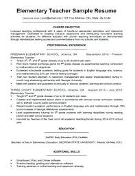 Elementary Teaching Cover Letter Elementary Teacher Cover Letter A ...