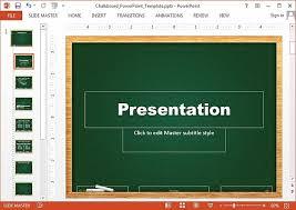 Chalkboard Powerpoint Background Free Chalkboard Powerpoint Templates