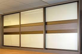 pearl white dark brown glass driftwood sliding doors