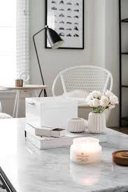 those things away especially if they can t double as decor keep it on top of the table or put it underneath when you need more tabletop space easy