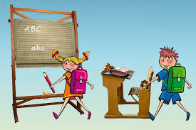 Image result for children learn at school cartoon