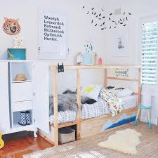 On the blog 10 ways to style the IKEA Kura bed Img via Tubukids