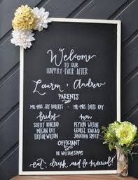 pinterest wedding programs. pinterest chalkboard wedding program Google Search Wedding
