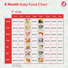 66 Up To Date Weaning Chart