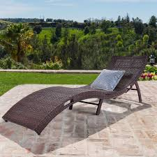 chaise lounge chair outdoor. Costway Mix Brown Folding Patio Rattan Chaise Lounge Chair Outdoor Furniture Pool Side 0 L