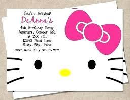 invitation card hello kitty hello kitty invitation card losdelat co