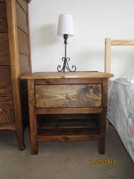 Reclaimed Wood Projects Ana White Reclaimed Wood Bedside Table Diy Projects
