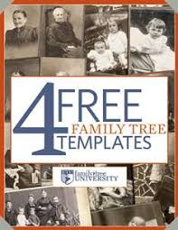 Family Tree Template Free Download 4 Free Family Tree Templates