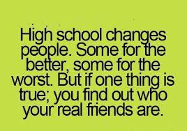 Quotes About High School Best 48 Great Quotes About School Friends EnkiQuotes