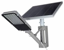 50w solar streetlight fully assembled