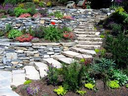 17 ideas for garden design stones are