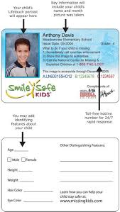 Printable Identification Card Kids Id Card Template Id Diy Kids Id Cards You Can Put
