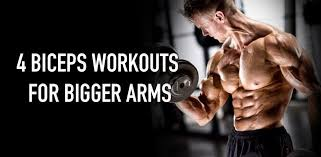 this article pin points 4 diffe biceps workouts that will help you develop bigger arms continue reading