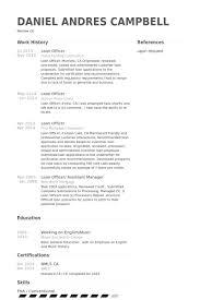 Loan Officer Resume Samples Visualcv Resume Samples Database