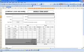 How To Use Excel As A Timesheet Simple Timesheet
