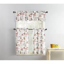 Primitive Curtains For Kitchen Kitchen Curtains Walmartcom